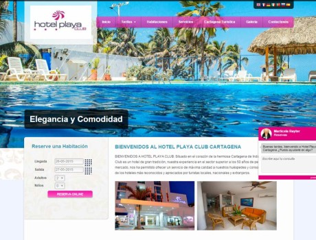 Hotel Playa Club Cartagena