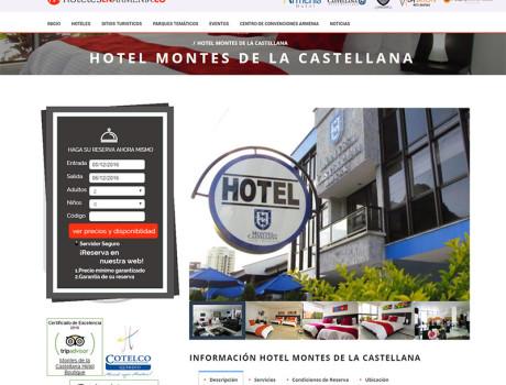 Montes de La Castellana Hotel Boutique